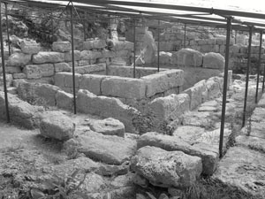 Reizen langs de resten van het romeinse rijk - Hedendaagse fontein ...